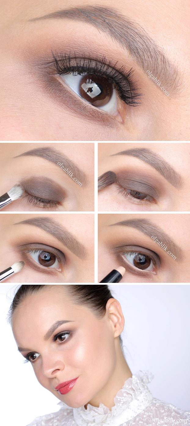 Простой макияж на каждый день картинки